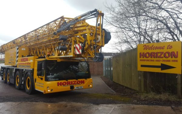 Mobile crane purchase is a Plus point for Falkirk firm