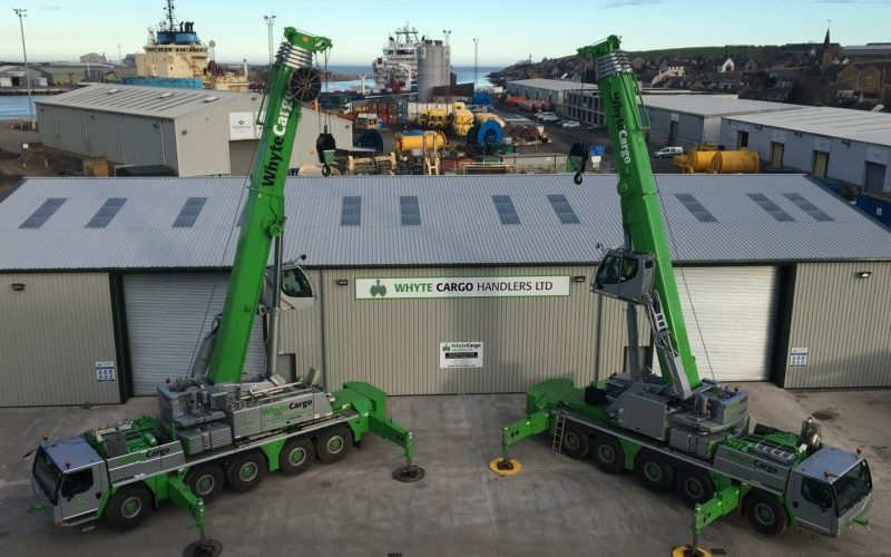 Crane purchase marks a UK-first for Montrose cargo handling firm
