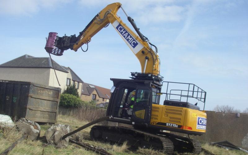 SANY excavators smash into Scottish demolition sector