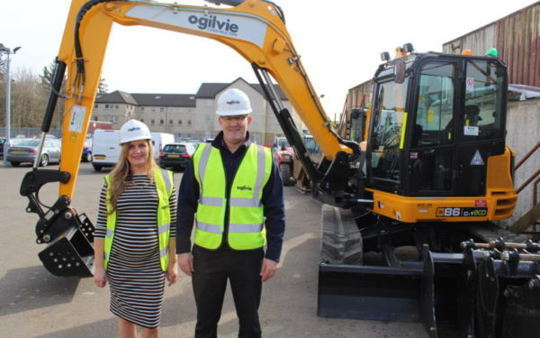 Double excavator purchase helps Stirling firm meet demand