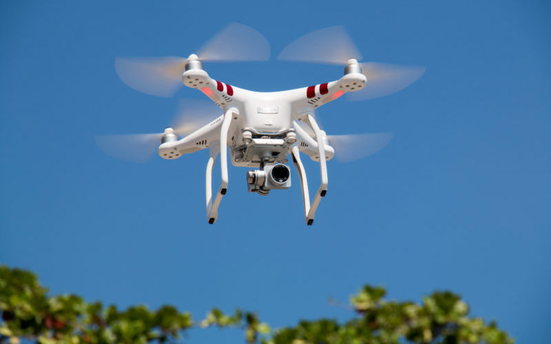 Drone technology helps in fight against plant theft