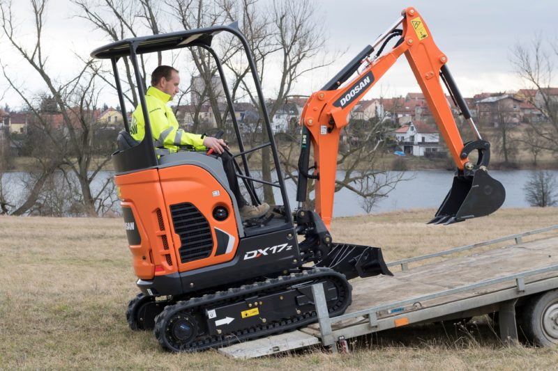Doosan launches new mini-excavator