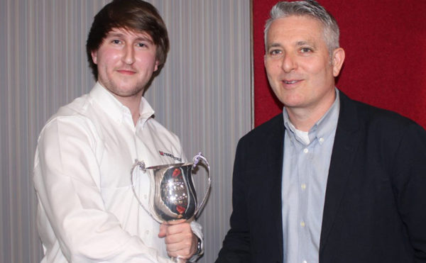 Terex apprentice scoops top award