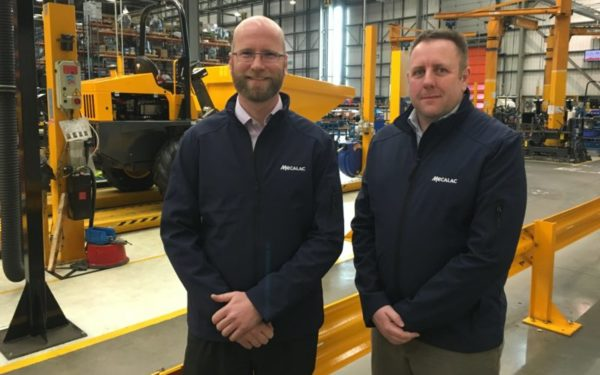 Mecalac announces senior appointments