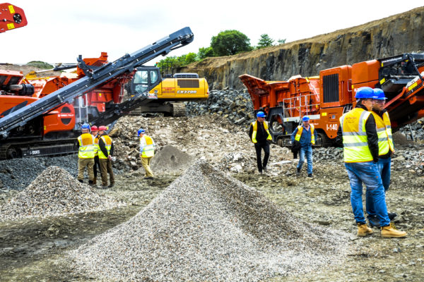 "Terex Finlay hosts ""essential"" Edinburgh open days"