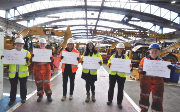 Finning gives backing to International Women in Engineering day