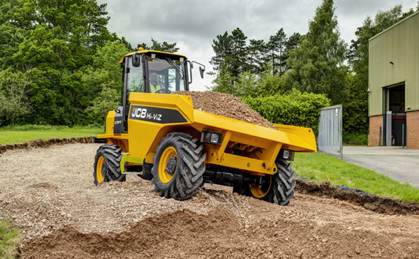 JCB reveals new dumper concept and more at special event
