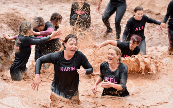 Competitors hail 'best ever' JCB Mud Run