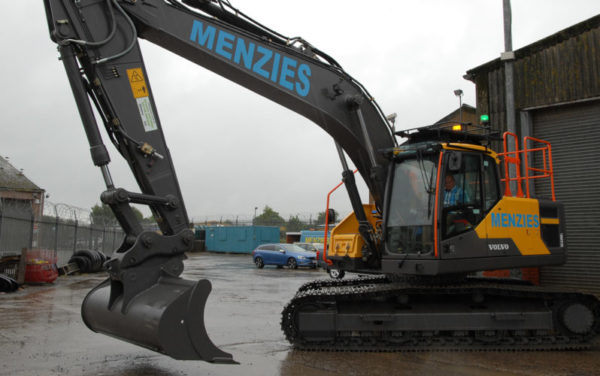 Alloa event leads to excavator purchase