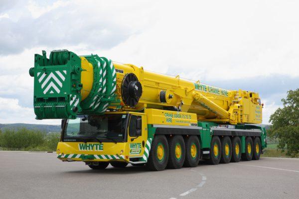 Liebherr cranes add diversity to Whyte fleet