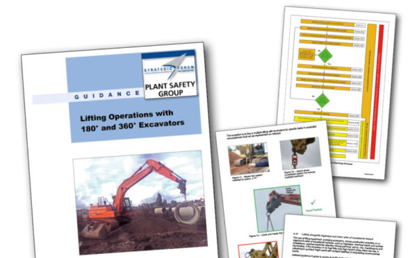 New guidance issued on lifting operations with excavators