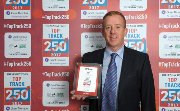 GAP climbs 28 places in Sunday Times Top Track 250