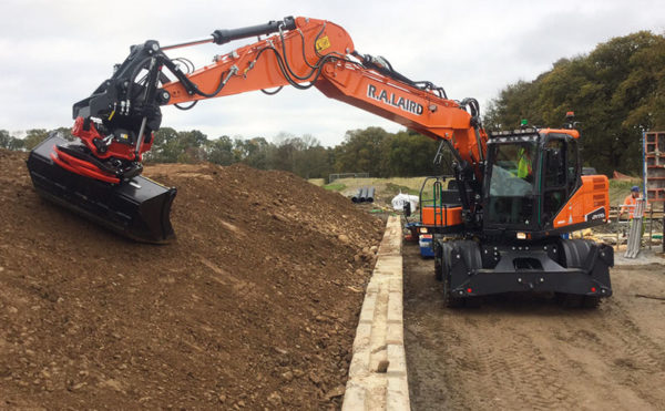 Finger on the pulse: Pitlochry firm adds Rototilt-fitted excavator to fleet