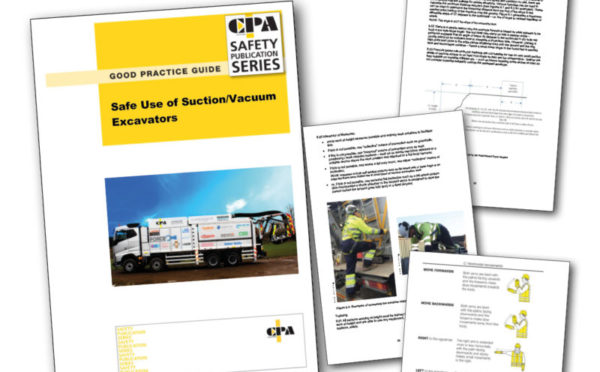 New safety guide launched for suction excavators