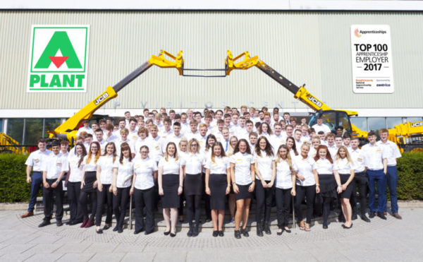A-Plant recognised for apprenticeship commitment