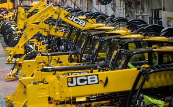 JCB staff receive 3.9% pay rise as Lord Bamford predicts bright future for sector