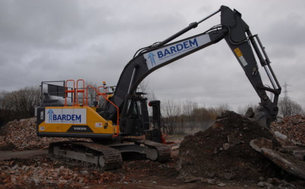 Paisley firm is flying the flag for Volvo excavator