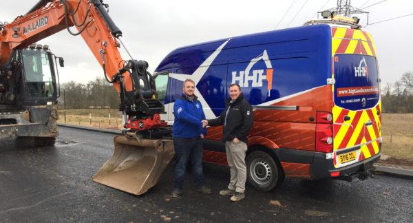 Highland Hammer Hire named new Rototilt dealer
