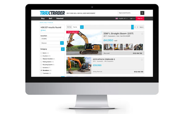 Making Trax: new site tipped to boost machinery turnover