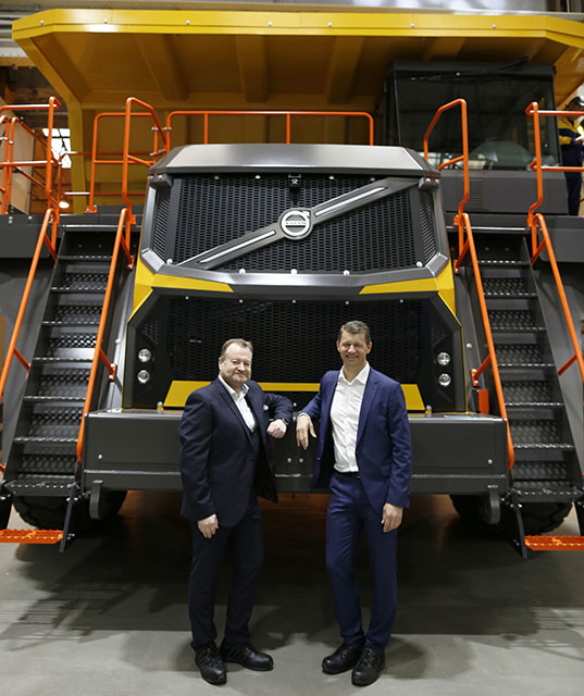 Motherwell launch for Volvo rigid haulers | Project Plant
