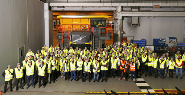 Motherwell launch for Volvo rigid haulers