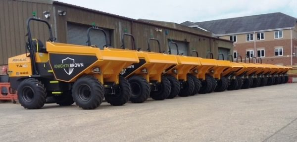 Mecalac dumpers prove their versatility