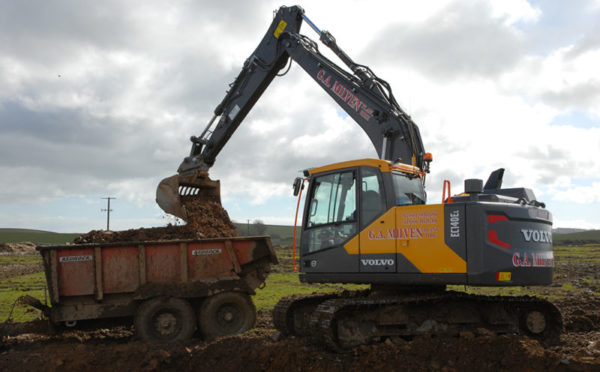 "Agricultural contractor ""well impressed"" with new Volvo's performance"