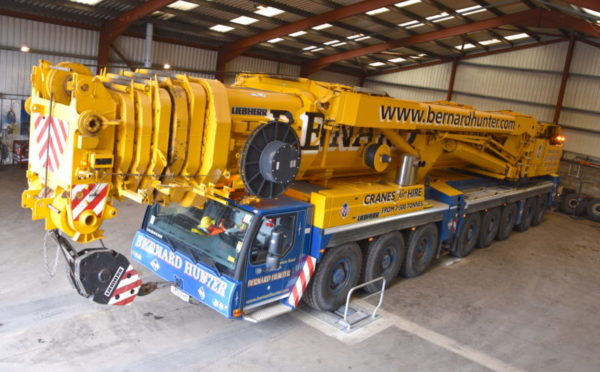 Edinburgh crane specialist is on a roll with new equipment