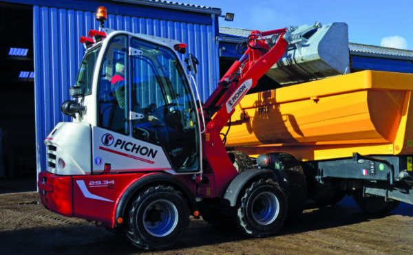 Mecalac acquires Pichon compact wheel loader range