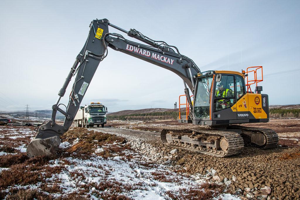 Volvo excavators 'find favour' with Edward Mackay operators